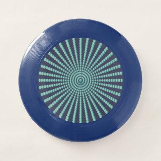 Frisbee De Wham-O Círculos del espiral de la ilusión óptica