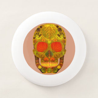 Frisbee De Wham-O Cráneo 12 de la hoja de Aspen