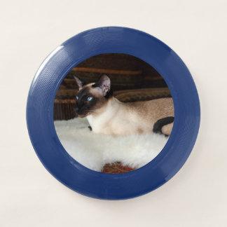 Frisbee De Wham-O Gato siamés elegante