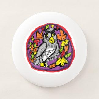 Frisbee De Wham-O hojas del búho