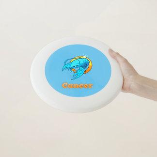 Frisbee De Wham-O Ilustracion del cáncer del zodiaco