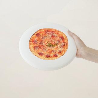 Frisbee De Wham-O Juego de la pizza de la novedad con su comida