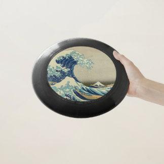 Frisbee De Wham-O La gran onda de Kanagawa: Impresión de Woodblock