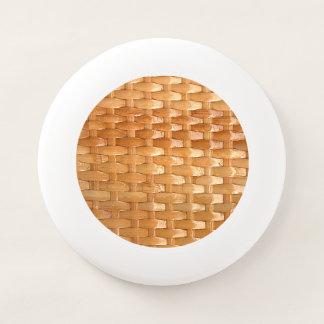 Frisbee De Wham-O La mirada de la textura de mimbre de Basketweave
