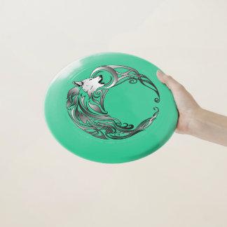 Frisbee De Wham-O Lobo tribal - sombreado