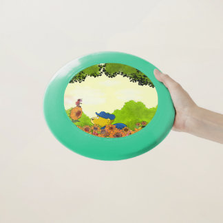 Frisbee De Wham-O Mariquita de Ferald y de Mizz