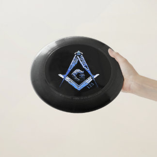 Frisbee De Wham-O Mentes masónicas (azules)