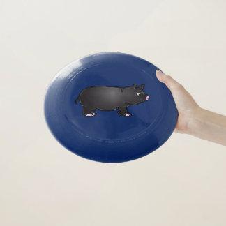 Frisbee De Wham-O Mini cerdo negro adorable