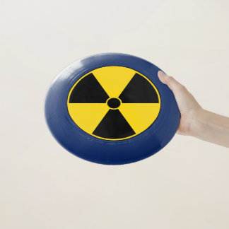Frisbee De Wham-O Símbolo de la radiación