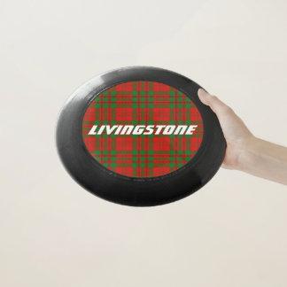 Frisbee De Wham-O Tela escocesa de tartán de Livingstone del clan de