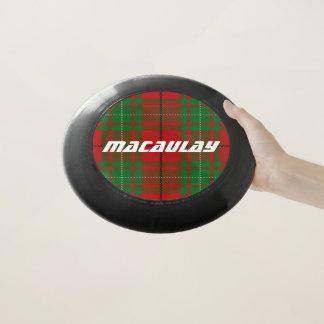 Frisbee De Wham-O Tela escocesa de tartán de MacAulay del clan de