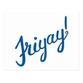 ¡Friyay! Postal