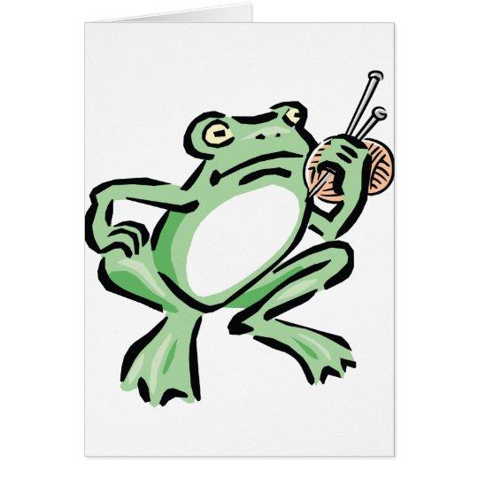 Frogger Tarjeta De Felicitación