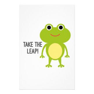 "Froggy 5,5"" x 8,5"" papel"