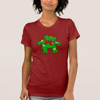 Froggy del remiendo camisetas
