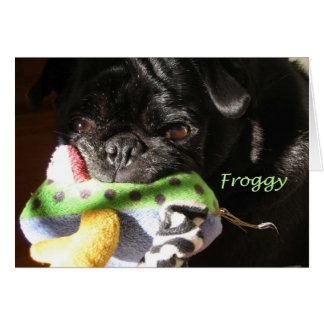 Froggy Tarjeta Pequeña