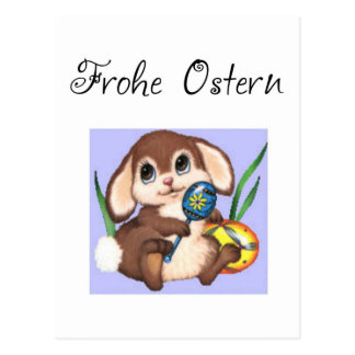 Frohe Ostern Postal