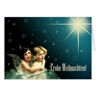 Frohe Weihnachten. Tarjetas de felicitación