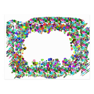 Frontera decorativa - opción de la plantilla para  tarjetas postales