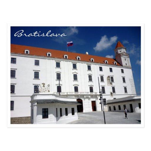 frontera del cielo del castillo de Bratislava Postales