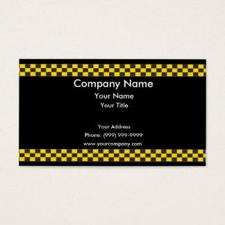 Frontera del taxi tarjeta de negocios