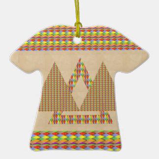 Frontera histórica de la energía del triángulo de  ornamentos de reyes