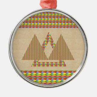 Frontera histórica de la energía del triángulo de ornamentos para reyes magos