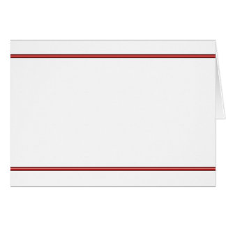 Frontera roja (paisaje) tarjeta