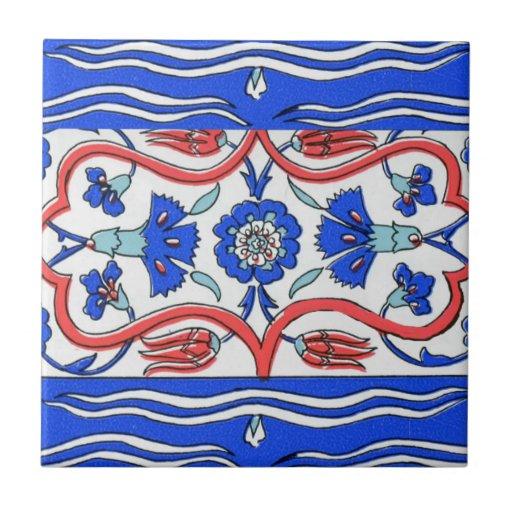 Frontera turca modelada tejas  cerámicas