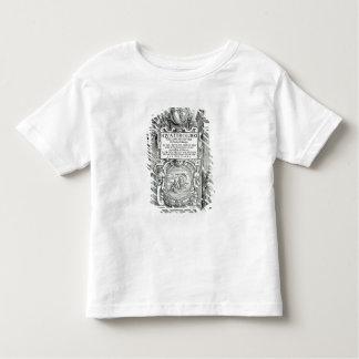 Frontispiece 'al dell'architettura del libri de camiseta