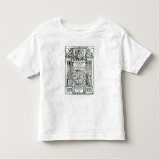 Frontispiece 'al dell'architettura del libri de camiseta de bebé