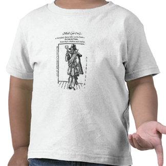 Frontispiece 'al rugido Girle Camiseta