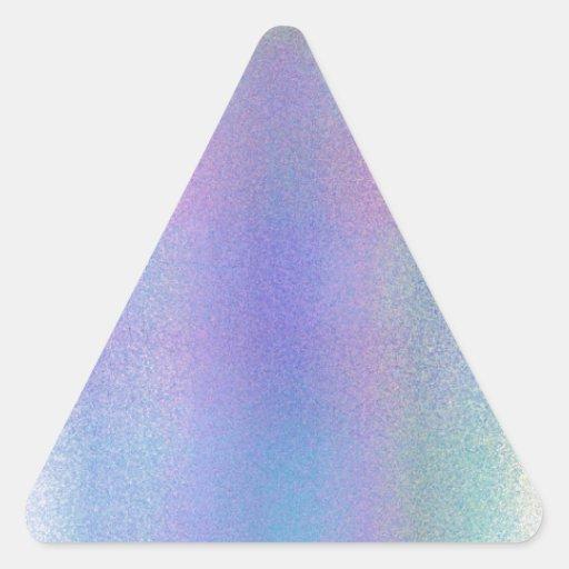 Frost reconstruido pegatina de trianguladas