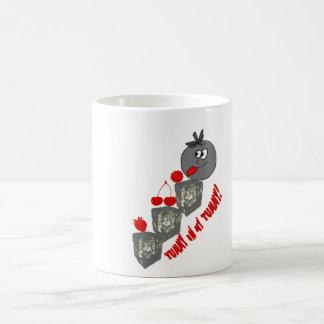 frut tazas de café
