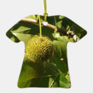 Fruta Adorno De Cerámica En Forma De Camiseta