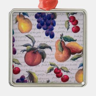 fruta adorno