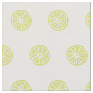 Fruta cítrica/tela impresa limón telas