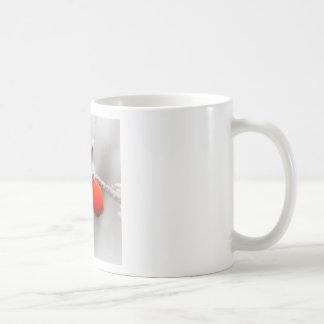 Fruta congelada tazas de café