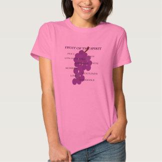 Fruta cristiana de la camisa de la vid de uva del