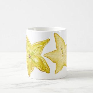 Fruta de estrella taza