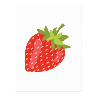 Fruta de la fresa postal