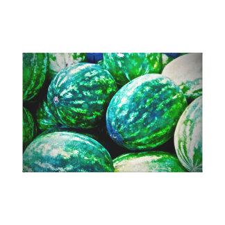 Fruta del Caribe del ~ del arte de la lona del ~