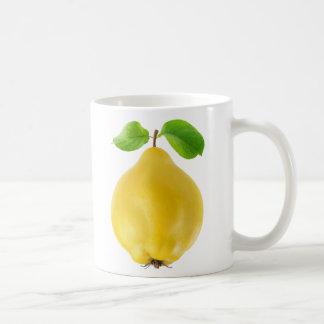 Fruta del membrillo taza de café