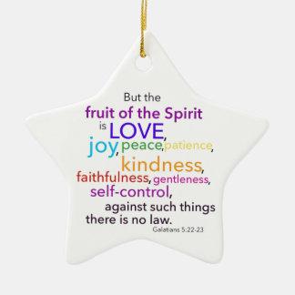 Fruta del ornamento del alcohol adornos de navidad