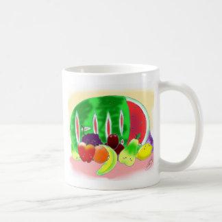 Fruta deliciosa taza clásica