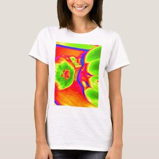 fruta fluorescente camiseta