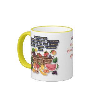 fruta, fruta del alcohol taza de café