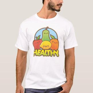 Fruta linda sana camiseta