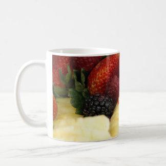 Fruta mezclada taza
