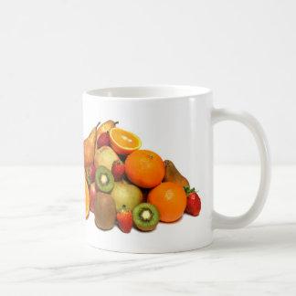 Fruta Taza Básica Blanca
